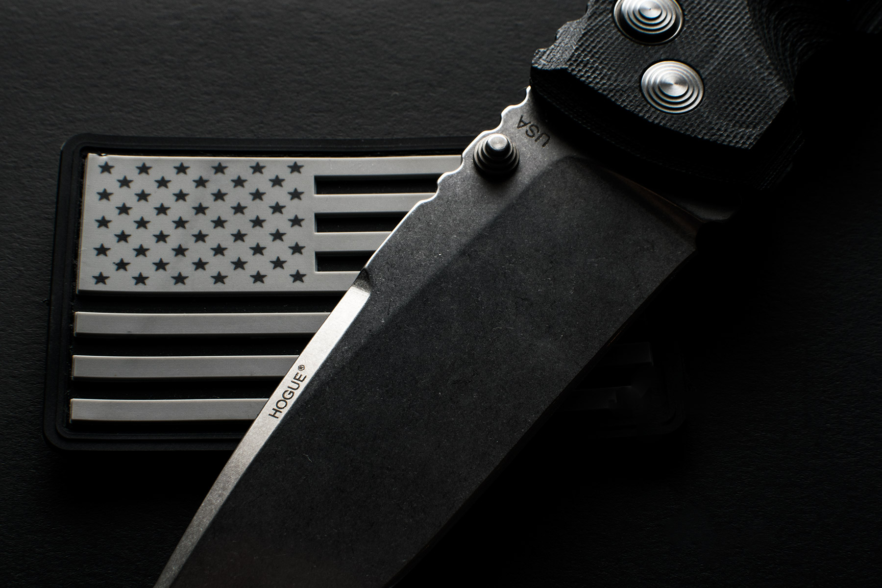 Hogue EX01 G10 Black Knife