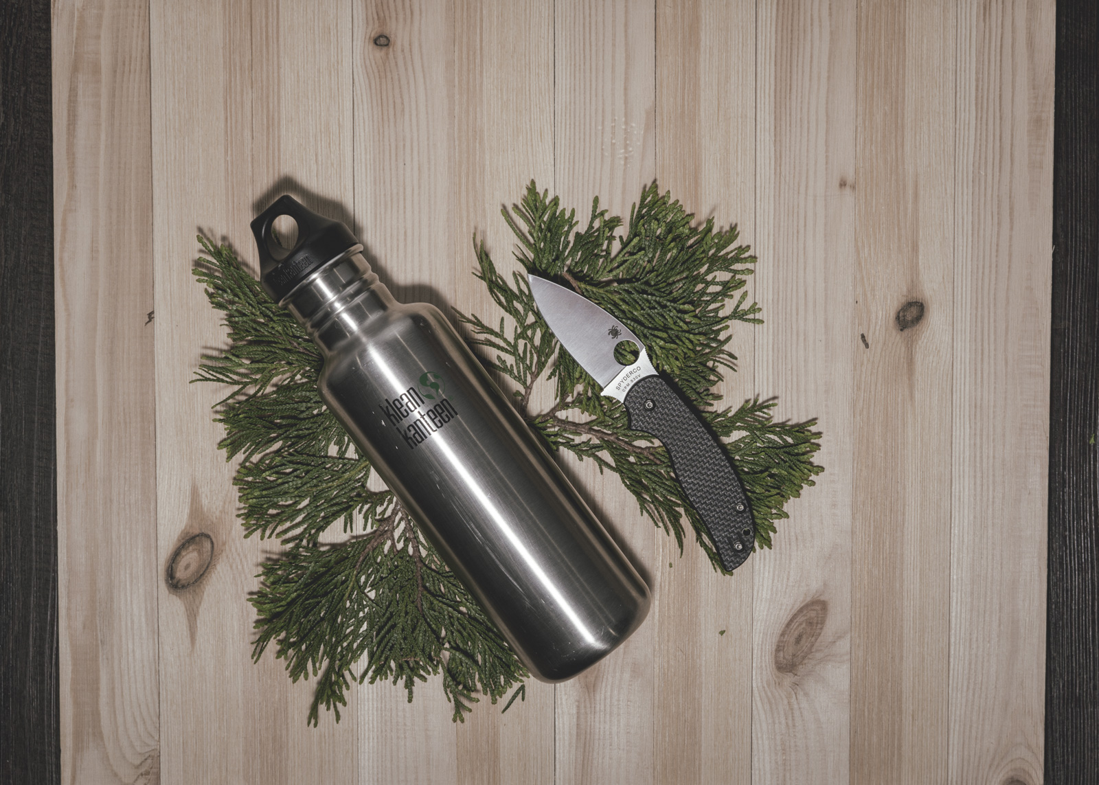 Klean Kanteen and Spyderco