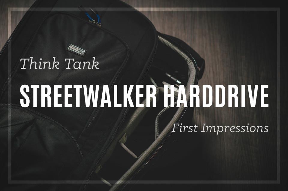 Think Tank Streetwalker Harddrive Backpack