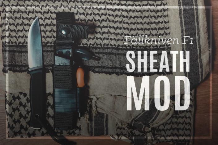 Fallkniven F1 Sheath Mod