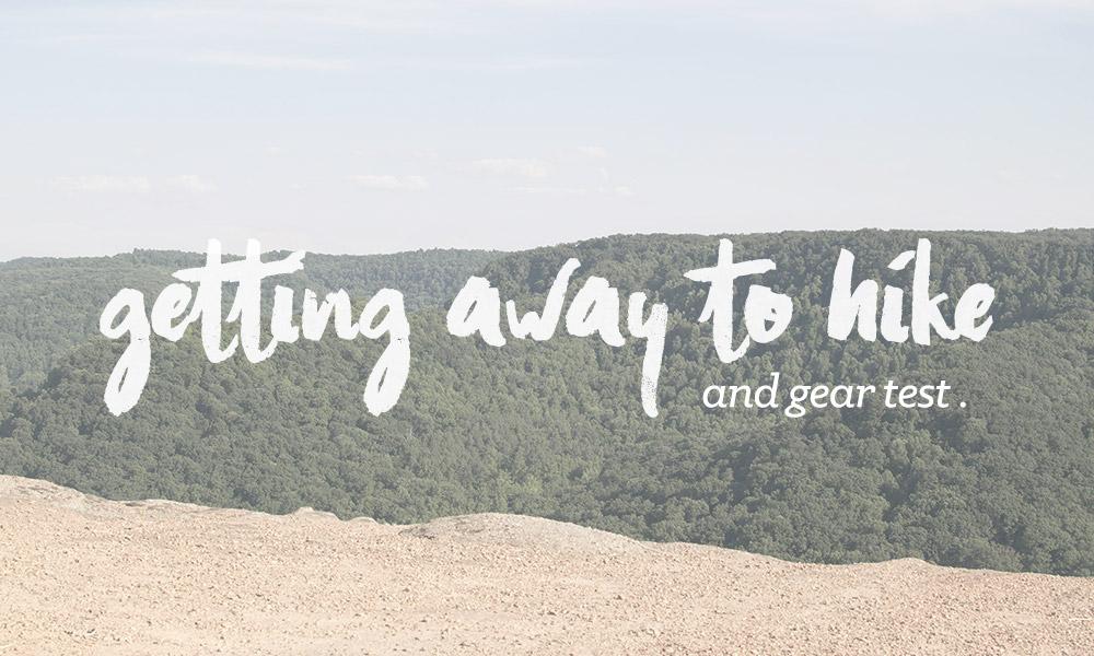 Hiking in Kentucky (summertime)