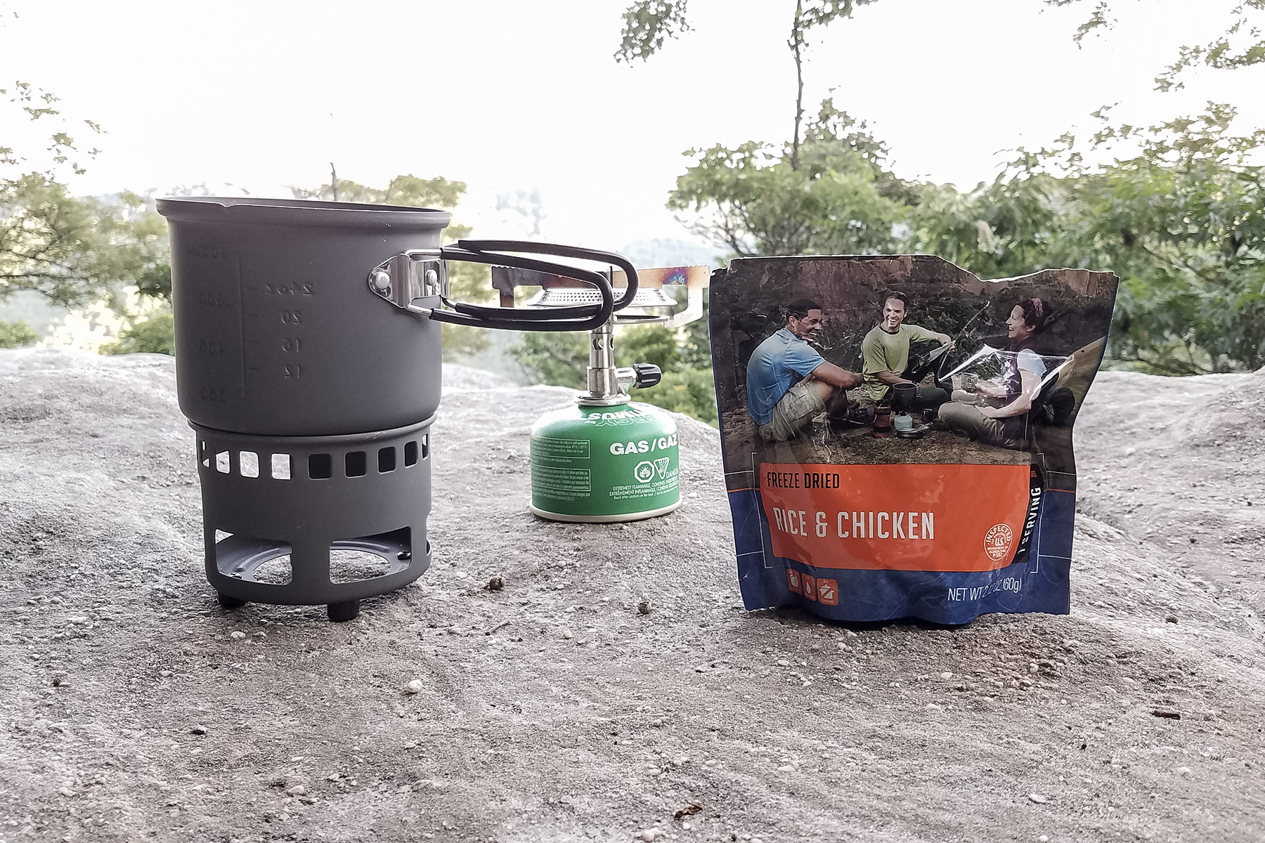 Primus Classic Trail Stove Review (dinner with a view)
