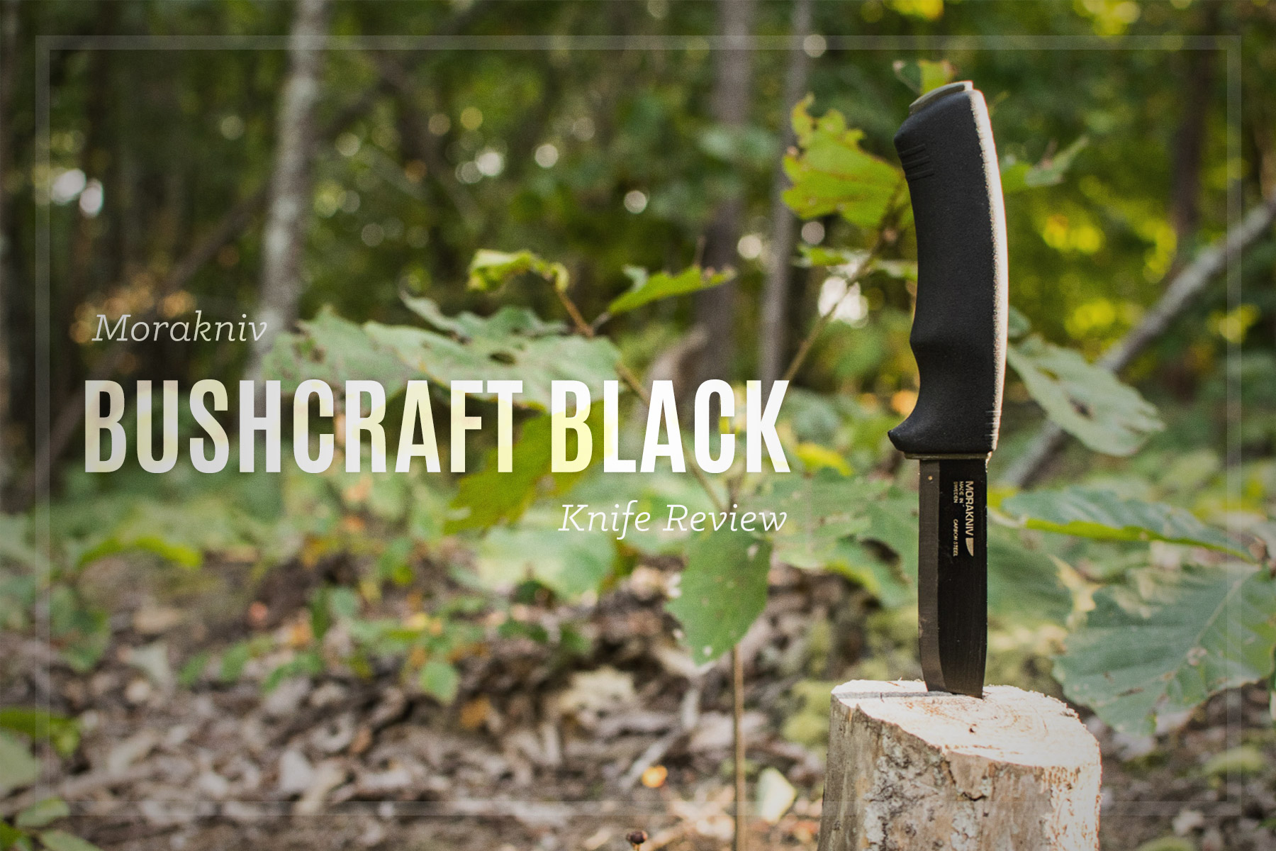 Mora Bushcraft Black Review