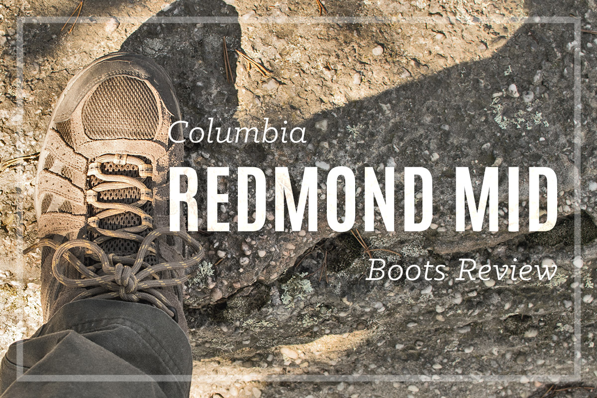 Columbia Redmond Mid Review • Tennis Shoe Like Hiking Boot