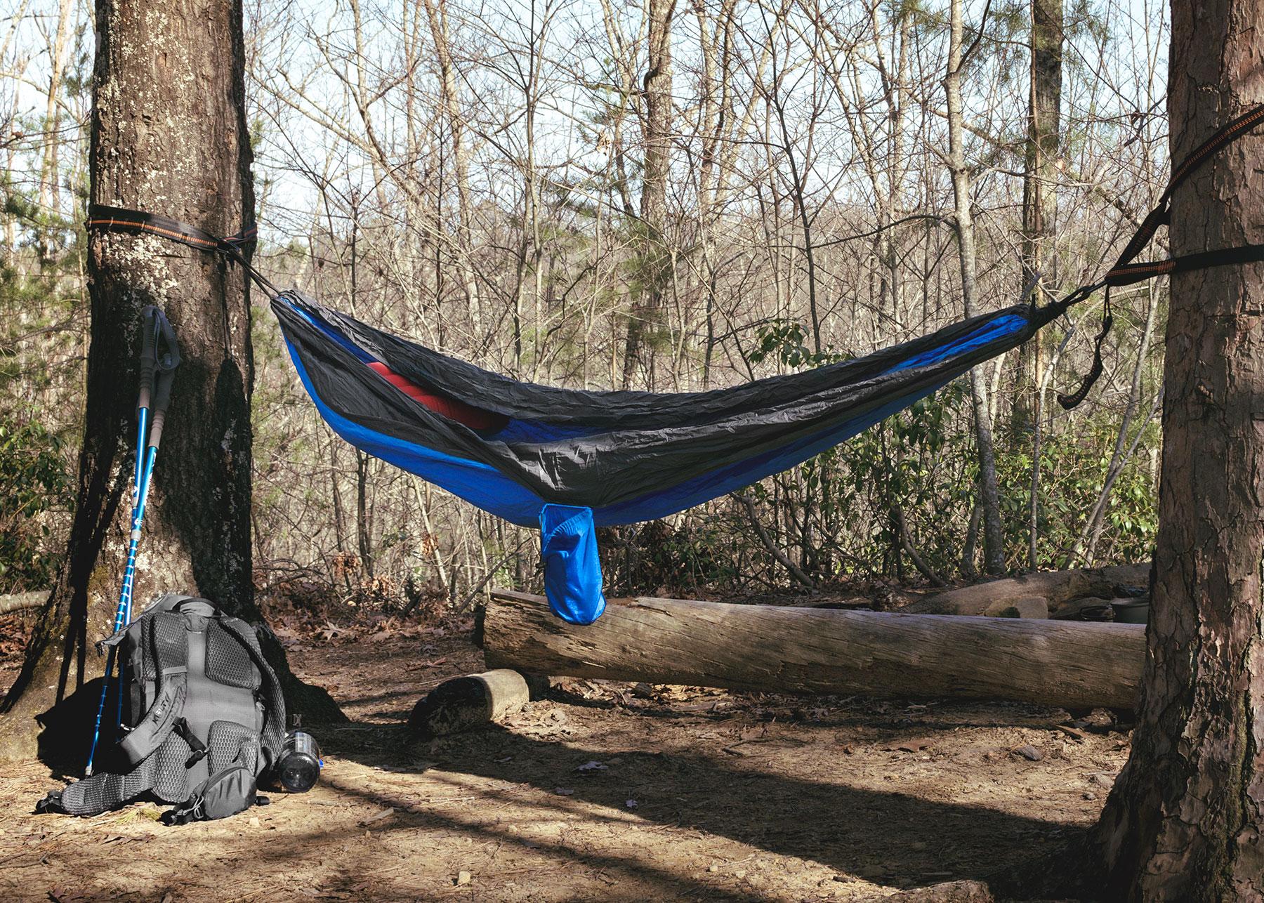 Hammock Camping 2017