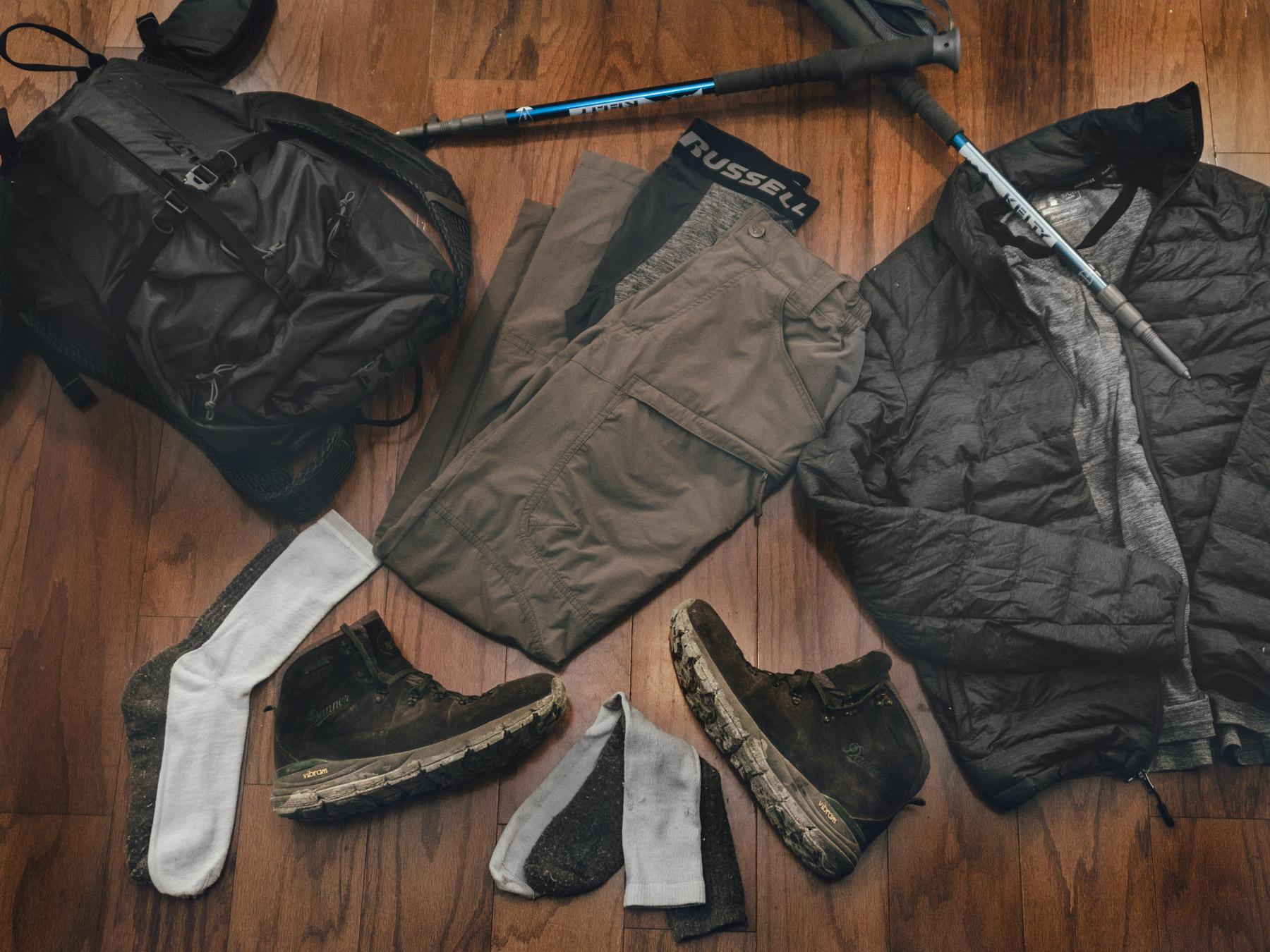 Hiking Clothing 2017