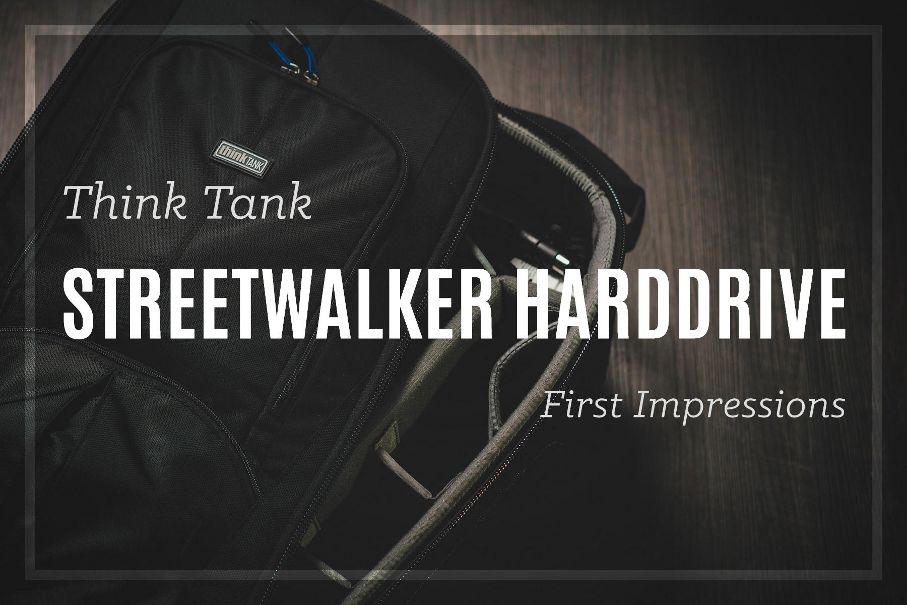 Think Tank Streetwalker Harddrive Review