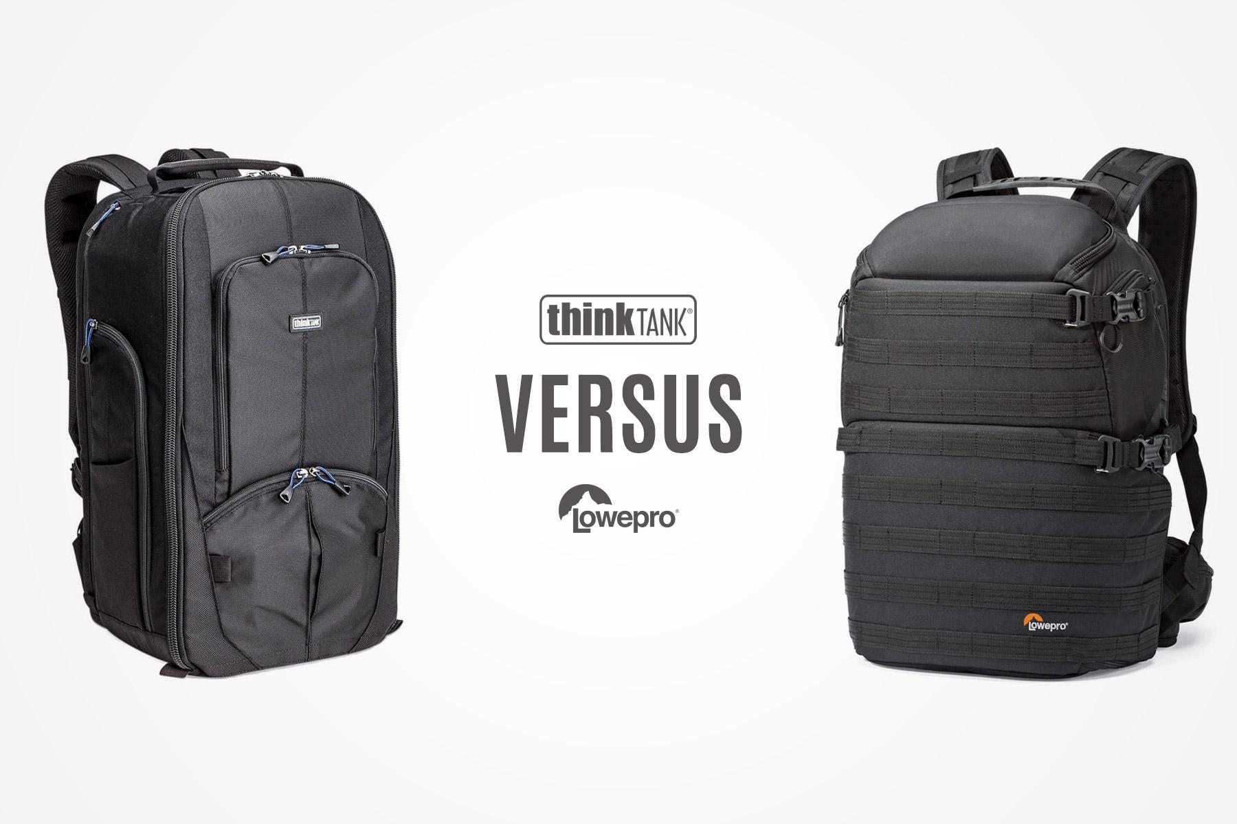 ThinkTank StreetWalker HardDrive vs Lowepro Pro Tactic 450