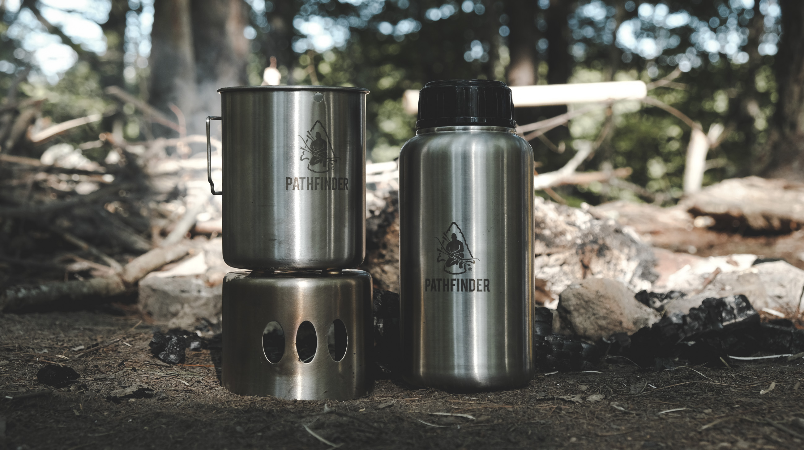 Pathfinder Bottle Cook Kit Review • Great Solo Kit for ...