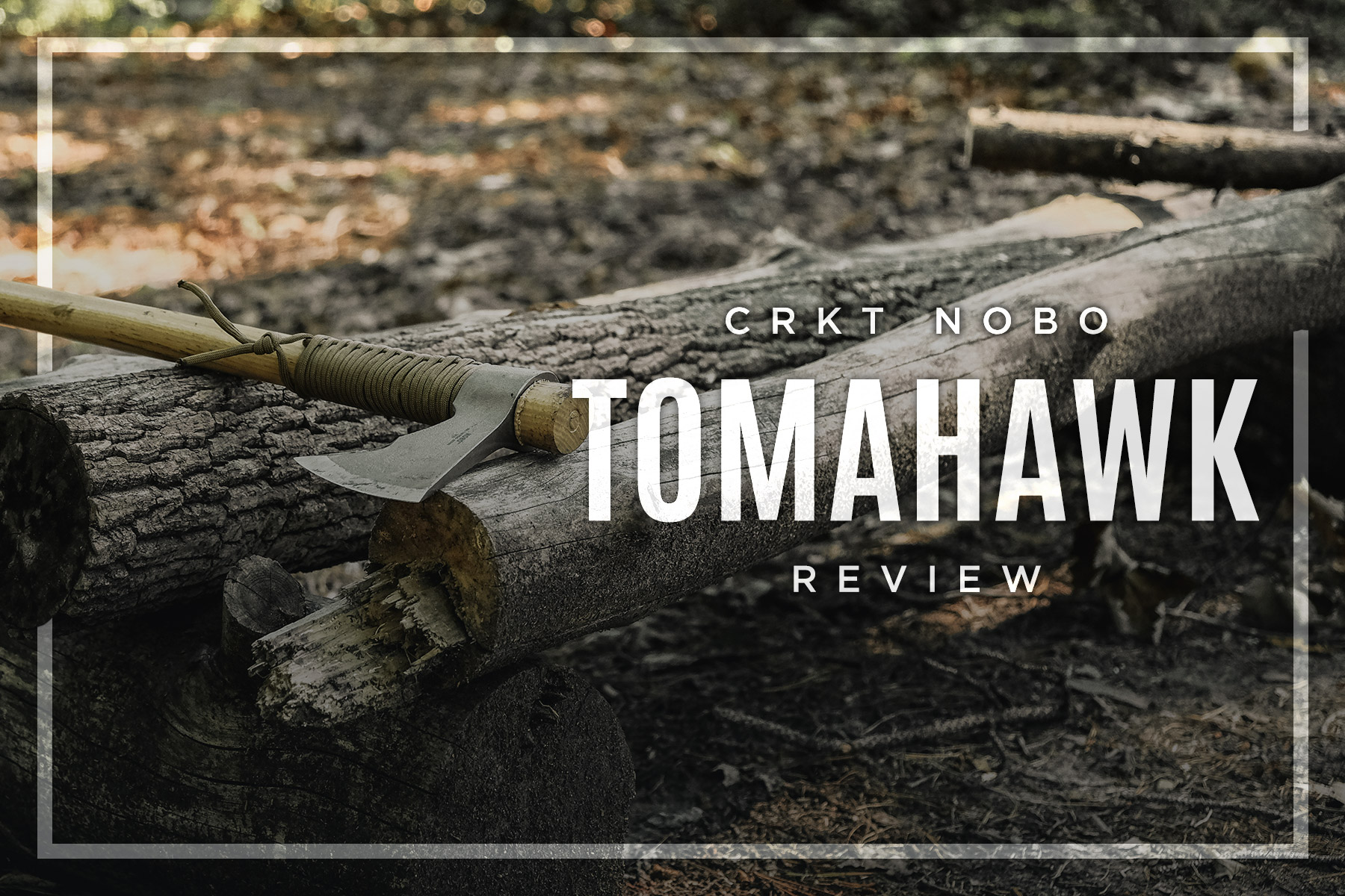 CRKT Nobo Tomahawk Review • Cold Steel TrailHawk or Nobo