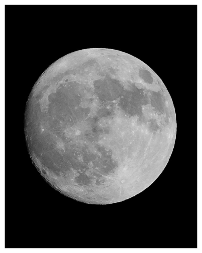 Full Moon Fujilm AstroPhotography
