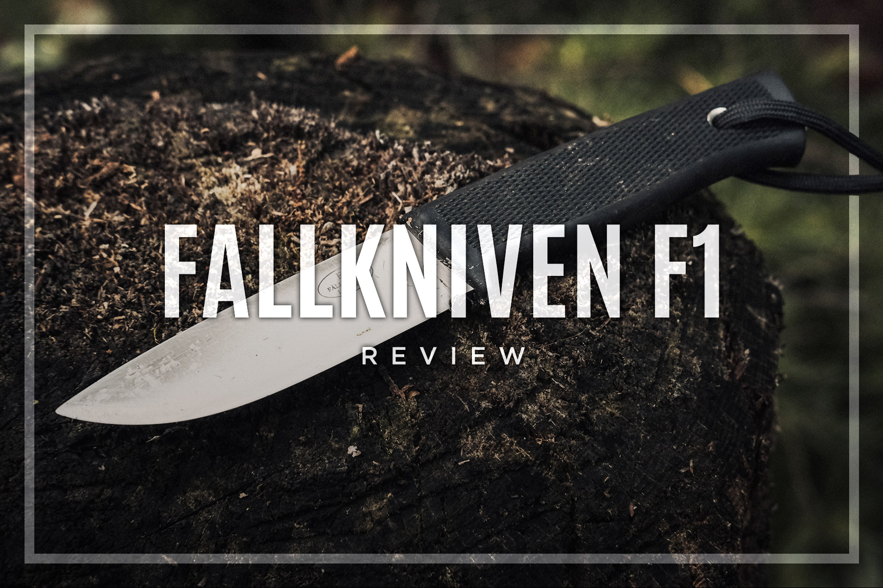Year Long Fallkniven F1 Review • Swedish Air Force Pilot